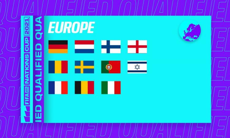 Esports, Italia sì! Gli Azzurri si qualificano alla fase finale della FIFAe Nations Cup