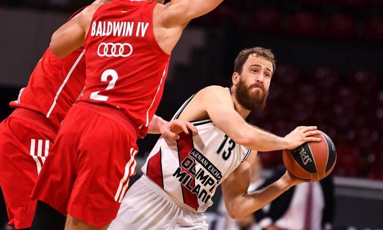 Basket, Olimpia Milano storica: batte il Bayern e vola alle Final Four di Eurolega dopo 29 anni