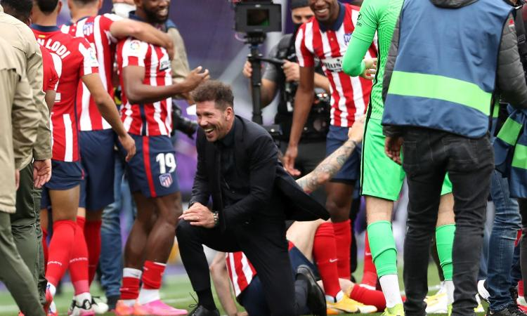 Simeone dopo Conte: il trionfo in Liga è la conferma, non si vince solo col 'bel gioco'