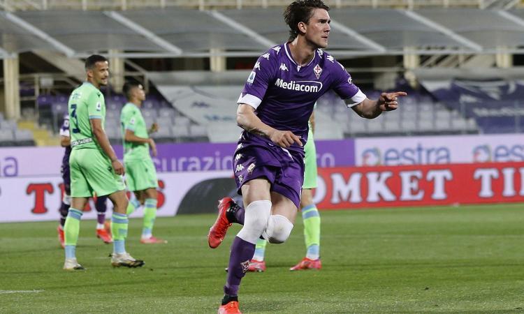 Fiorentina, l'agente di Vlahovic in Italia: dal rinnovo al Milan, la situazione
