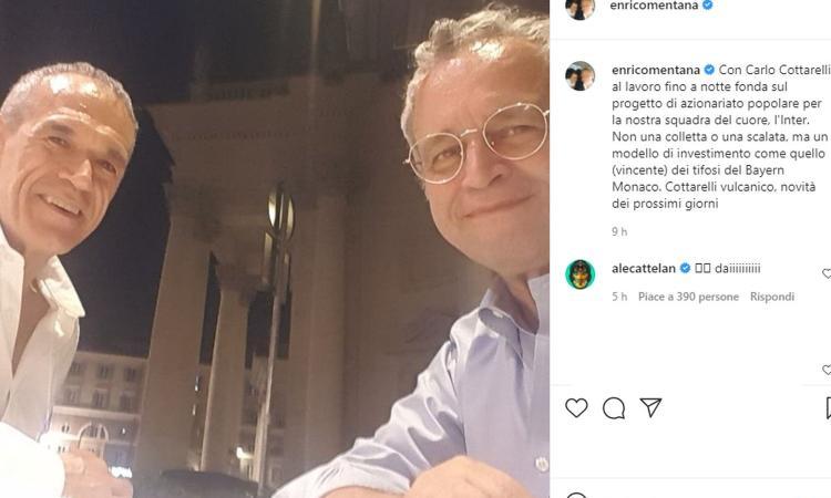 Ecco Interspac: da Bergomi a Mentana e Fognini, i nomi dei 40 soci vip. Il questionario per l'azionariato popolare
