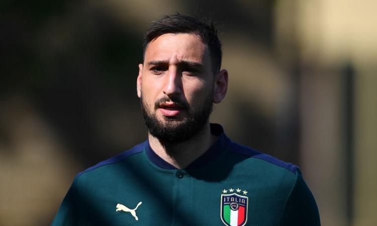 Donnarumma: 'L'Italia non ha ancora fatto niente. C'è allegria, siamo bravi ragazzi. Mi piace il calcio di Mancini...'