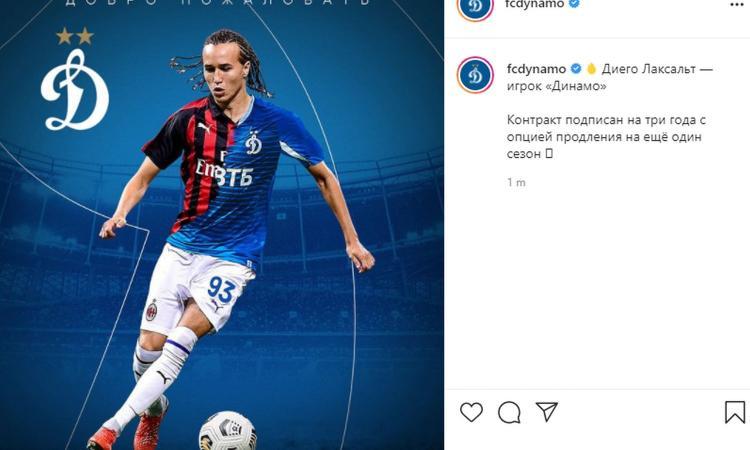 Milan, UFFICIALE l'addio di Laxalt: va alla Dinamo Mosca a titolo definitivo, cifre e dettagli