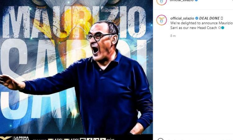 Lazio, UFFICIALE: Sarri nuovo allenatore. Le parole di Lotito