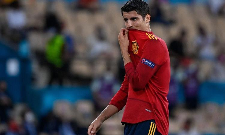 Morata, errori e fischi: la Spagna domina ma delude all'esordio, solo 0-0 con la Svezia di un super Olsen