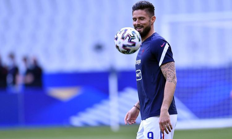Il Milan prova a stringere per Giroud: oggi nuovi contatti, le ultime