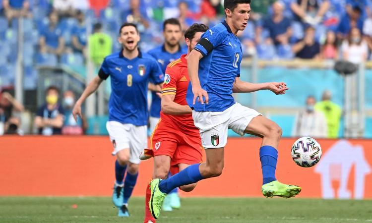 Italia, Pessina: 'Io e Locatelli gli unici fuori dal gruppo Playstation. Su Mancini e Gasperini...'