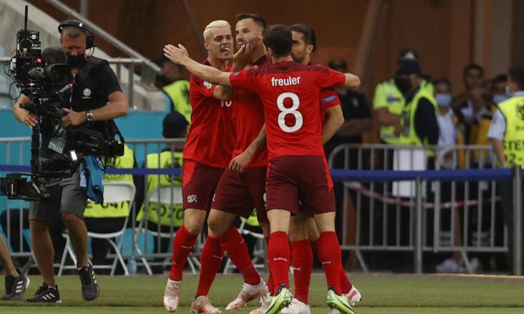 Svizzera-Turchia 3-1: il tabellino