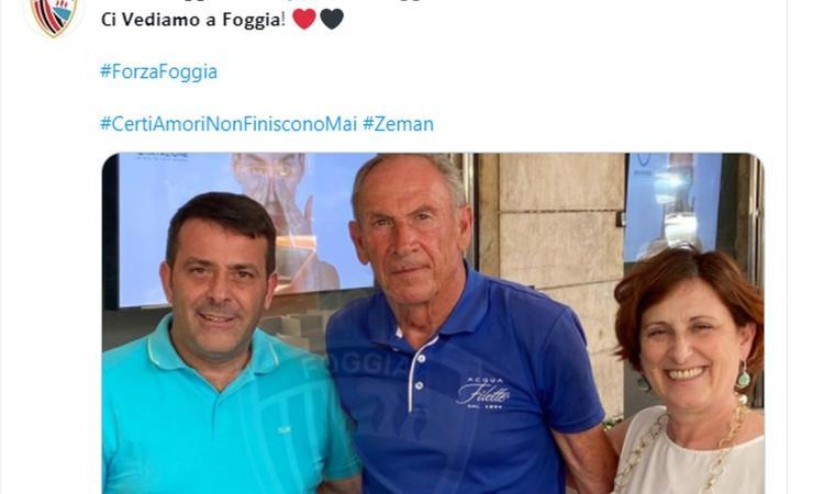 Incredibile Zeman, torna al Foggia per la 4ª volta: allenerà in Serie C