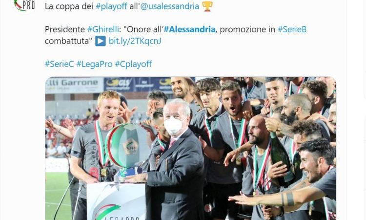 Playoff Serie C, l'Alessandria torna in B dopo 46 anni: impresa epica contro un grande Padova