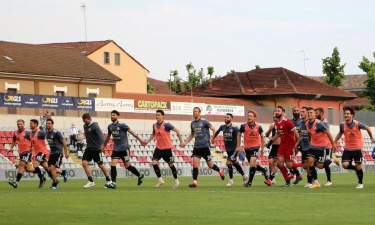 Playoff Serie C, Alessandria a un passo dalla finale: ora è la favorita per la B