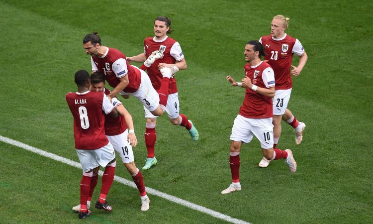 Dominio Austria, 1-0 all'Ucraina di Shevchenko: sabato sera sfida l'Italia a Wembley negli ottavi di Euro2020