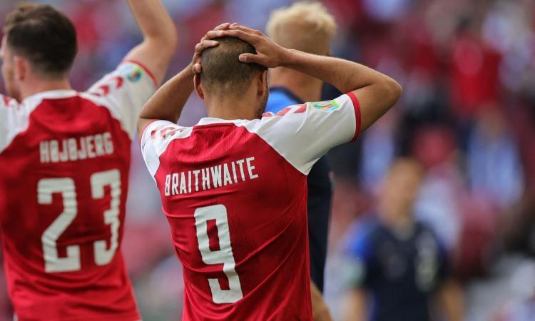 Braithwaite su Eriksen: 'Quando ho visto che stava male ho iniziato a pregare'