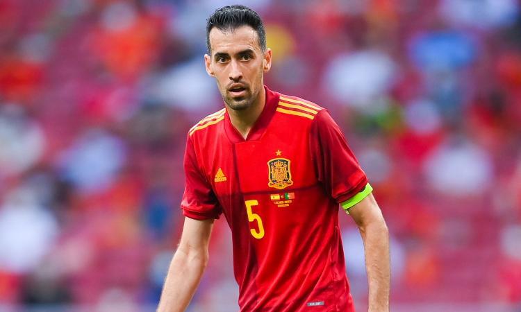 Allarme Spagna, Busquets positivo al Covid