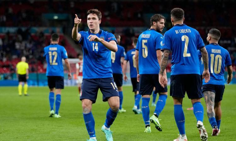 L'Italia non è bella e soffre, ma ai supplementari batte 2-1 l'Austria e vola ai quarti di finale degli Europei