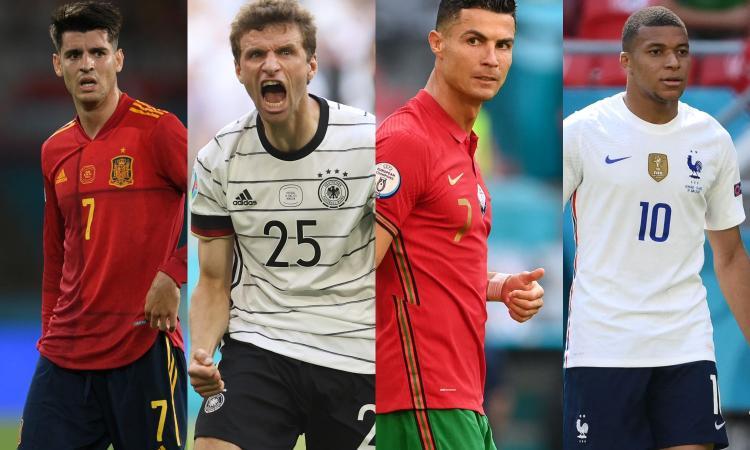 Europei, si chiudono i gironi: in campo Spagna, Germania e Portogallo-Francia. Le probabili formazioni