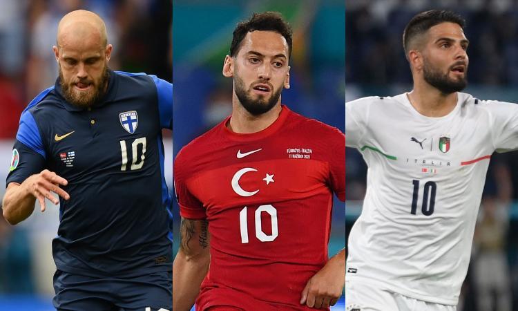 Italia-Svizzera, ma non solo: Finlandia-Russia e Turchia-Galles, le probabili formazioni e dove vederle in tv