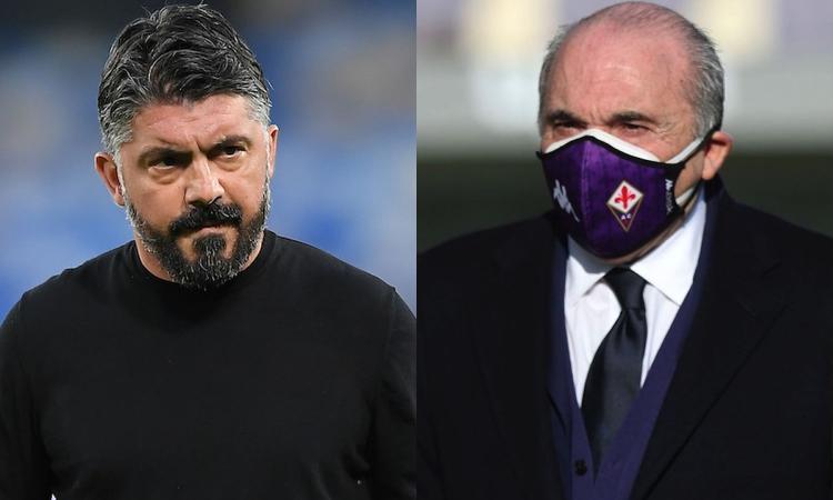 Il Milan, il Napoli, ora la Fiorentina: Gattuso litiga con tutti, possibile che la colpa sia sempre degli altri?