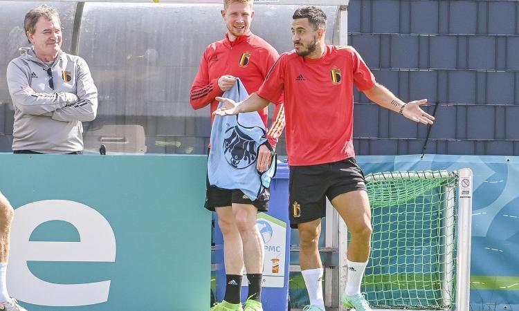 Belgio, De Bruyne e Hazard in dubbio per l'Italia: Martinez studia il piano B