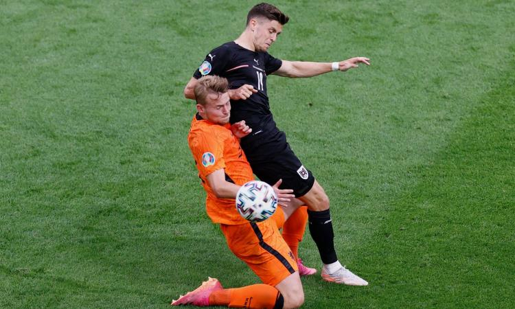 De Ligt è il muro oranje: il segnale ad Allegri, la Juve non teme il Barcellona