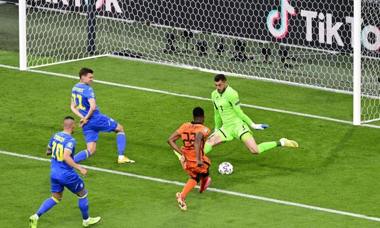 Olanda-Ucraina 3-2: il tabellino