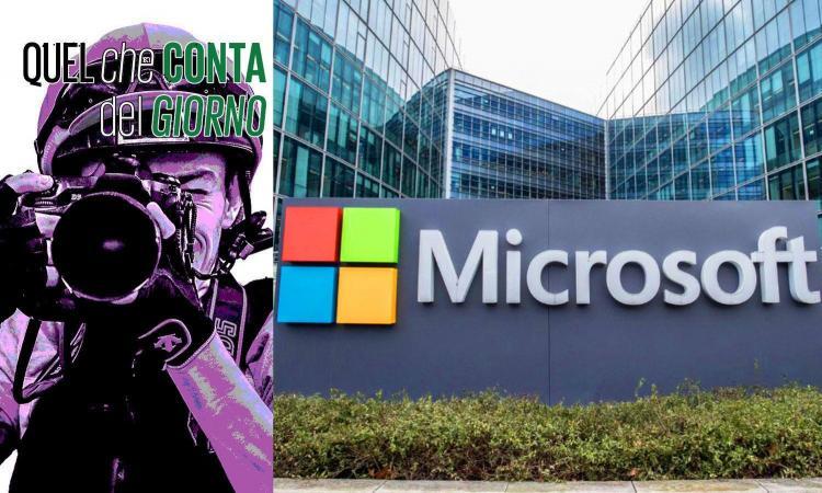 Microsoft: 365 miliardi di profitti, zero dollari di tasse pagate. Caso Chioggia: razzisti in Italia? Ma quando mai!