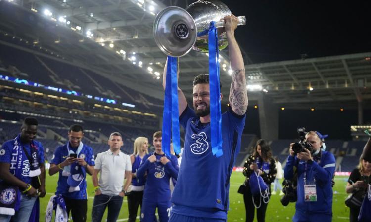 L'entourage di Giroud a CM: 'Il Chelsea ha esercitato l'opzione unilaterale, ma in caso di offerte lo lascerà libero'. Il Milan...