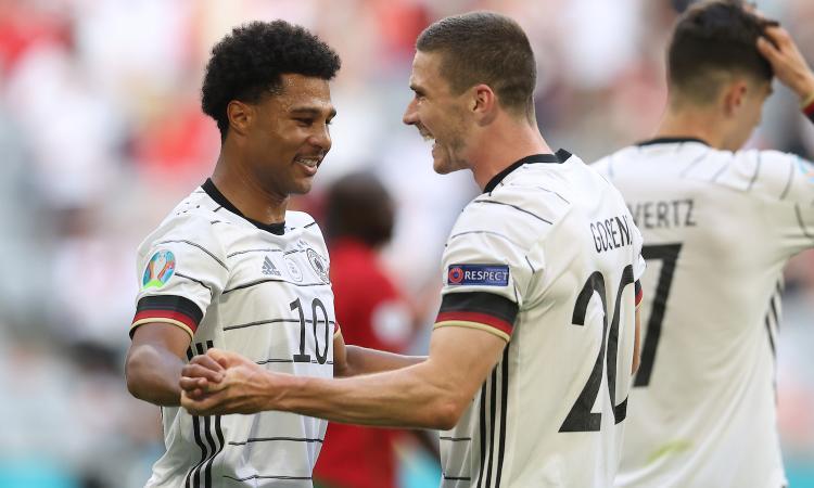 La Germania travolge il Portogallo: 4-2 con super Gosens, non basta Ronaldo. Il girone F resta apertissimo