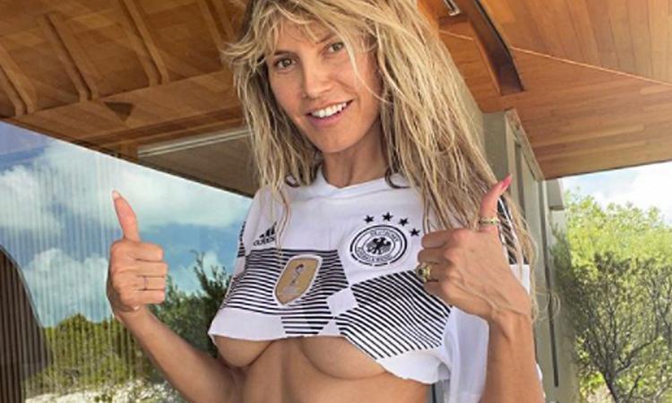Heidi Klum super sexy per la sua Germania FOTO e VIDEO