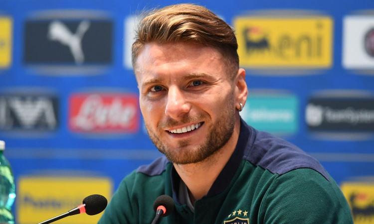 Lazio: Immobile titolare con l'Italia, Acerbi verso il ritorno il panchina
