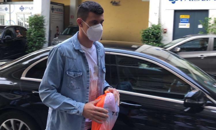Lazio, ecco Kamenovic: visite mediche per il nuovo arrivato FOTO e VIDEO