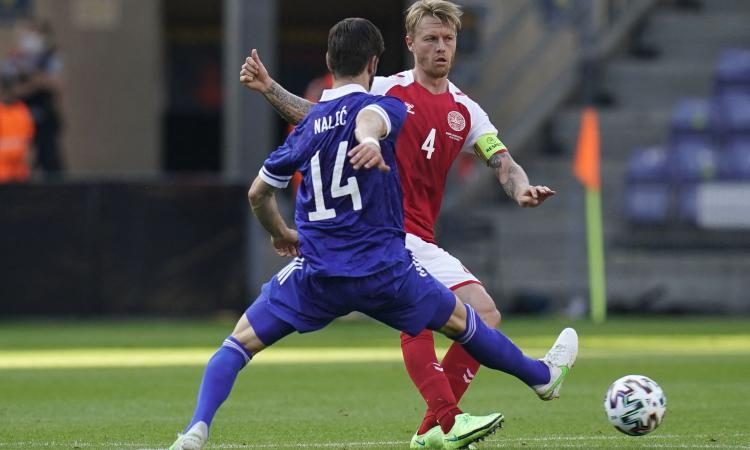 Danimarca-Finlandia, le formazioni ufficiali: Kjaer, Maelhe ed Eriksen titolari, gioca Pukki