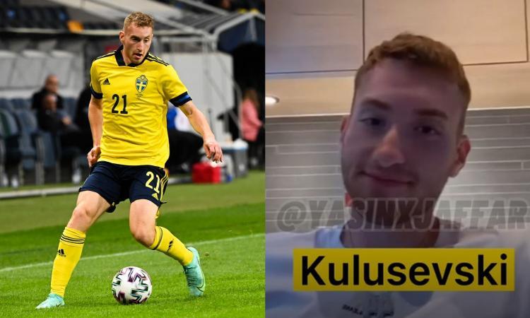 Kulusevski positivo al coronavirus: party a sorpresa prima del ritiro con la Svezia, c'è il VIDEO