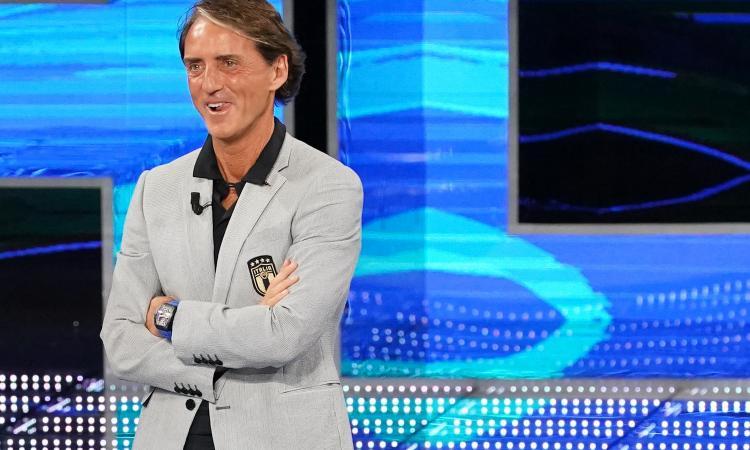 Mancini: 'Raspadori come Paolo Rossi, è il futuro dell'Italia. Verratti da valutare. Donnarumma e Pessina...'