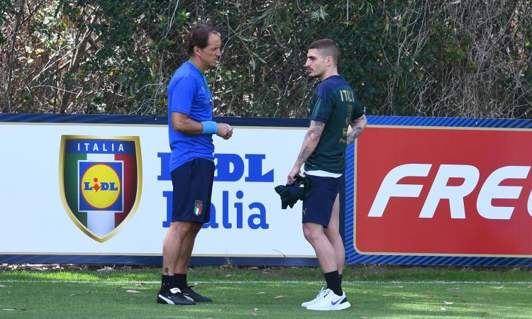 Mancini fa bene a cambiare mezza squadra: giusto ripartire da Verratti