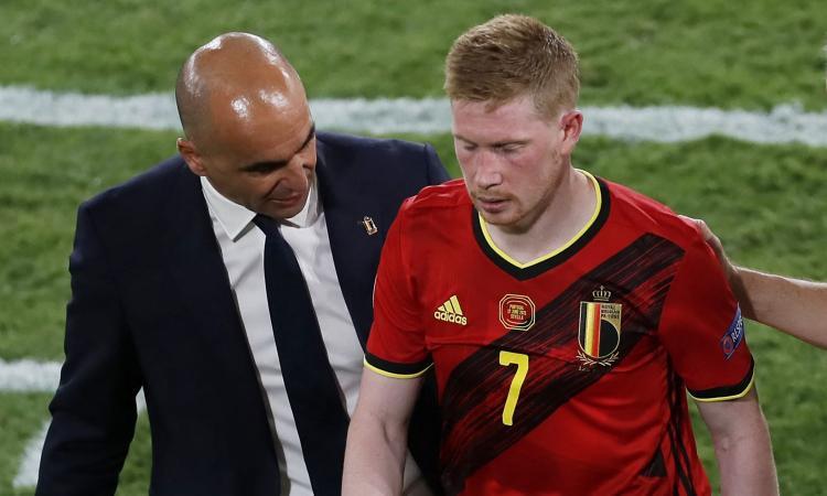 Belgio, Martinez: 'De Bruyne e Hazard in campo con l'Italia? Niente danni strutturali, ma è corsa contro il tempo'