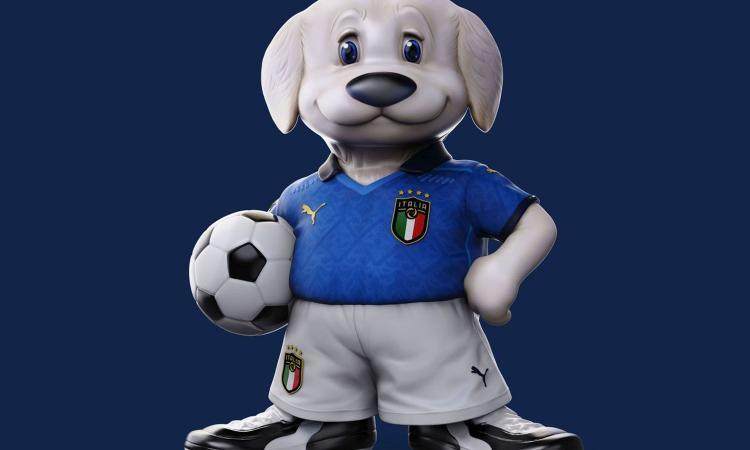 Italia, nasce da un'idea di Carlo Rambaldi la nuova mascotte degli Azzurri FOTO