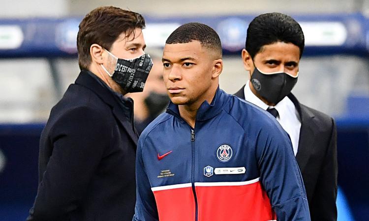 PSG, Al-Khelaifi tuona: 'Non venderemo mai Mbappé e non andrà via a zero. Su Pochettino e Messi...'
