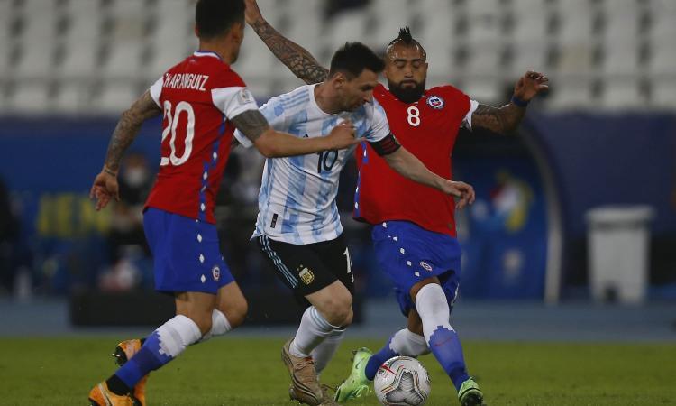 Vidal brilla contro Messi, col Cile è un altro giocatore. Ma il futuro all'Inter resta un rebus: 'Mi piace il Messico...'