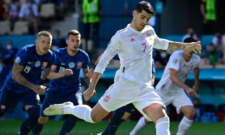 Slovacchia-Spagna 0-5: il tabellino