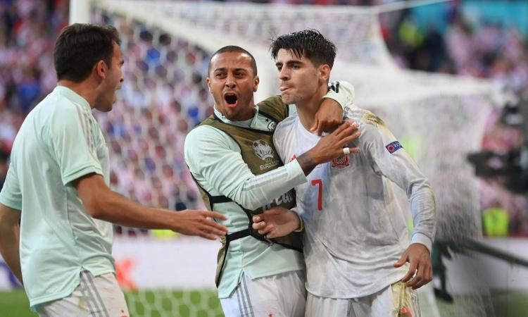 La Spagna è squadra, la Croazia no: Luis Enrique domina, Morata trascina