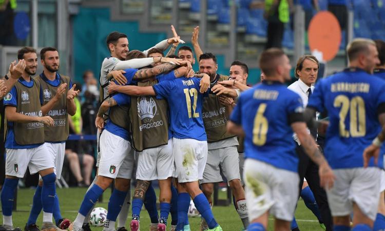 L'Italia vince e chiude prima nel girone, agli ottavi Austria o Ucraina: 1-0 al Galles, che passa come secondo