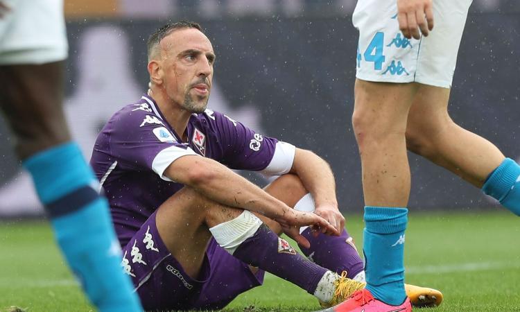 Ribery esce allo scoperto: 'Voglio restare alla Fiorentina, un anno o due'