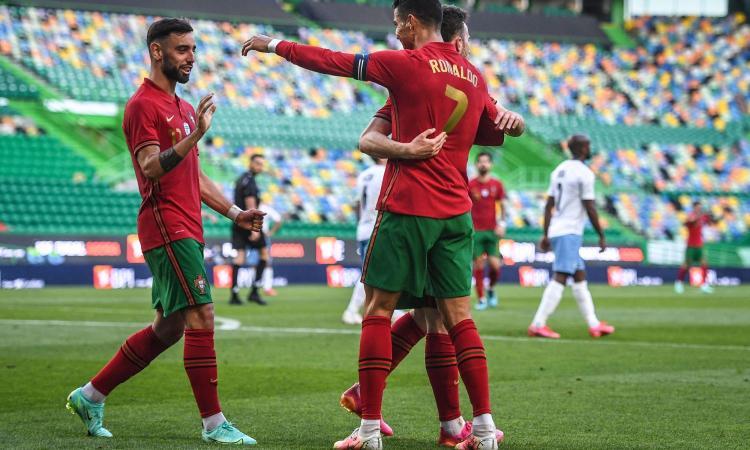 Amichevoli nazionali: segna Ronaldo, tris Portogallo a Israele