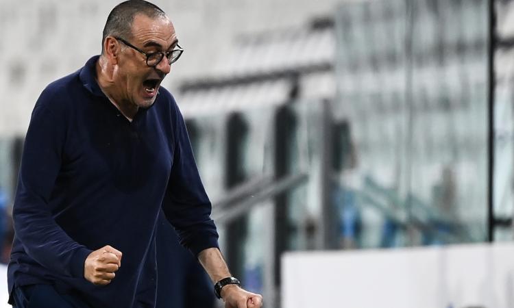 Calciomercato Lazio: la reazione di Sarri all'annuncio e su Conte e la Juve