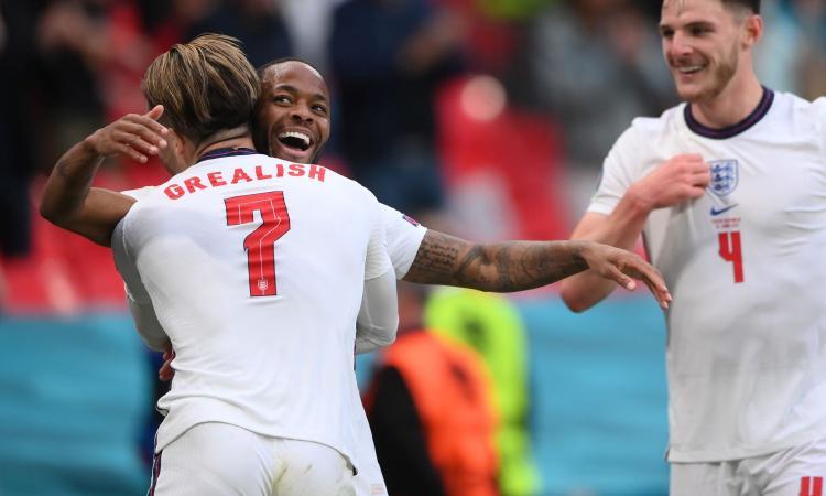 Sterling trascina l'Inghilterra al primo posto: 1-0 alla Repubblica Ceca, che va da terza agli ottavi