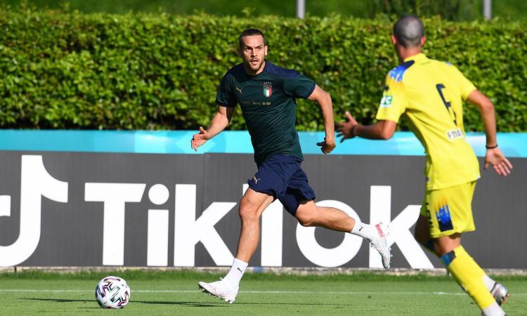 Italia, verso la Svizzera: Toloi in vantaggio su Di Lorenzo, Mancini si tiene il dubbio su Verratti