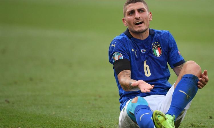 Italia, Verratti: 'Emozioni fantastiche, che sofferenza in panchina. Spinazzola perdita importante'