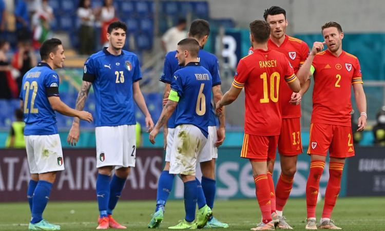 L'Italia vince e fa tre su tre, ma senza Verratti è più bella