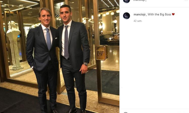 Mancini jr a CM: 'Riti, consigli e...sofferenza, vi racconto il mio papà ct. Impressionato da Commisso, non va dietro al sistema'